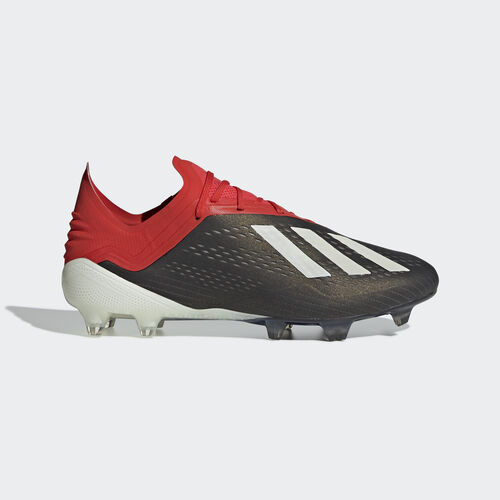 adidas - X 18.1 Firm Ground Boots Core Black / Ftwr White / Active Red BB9345
