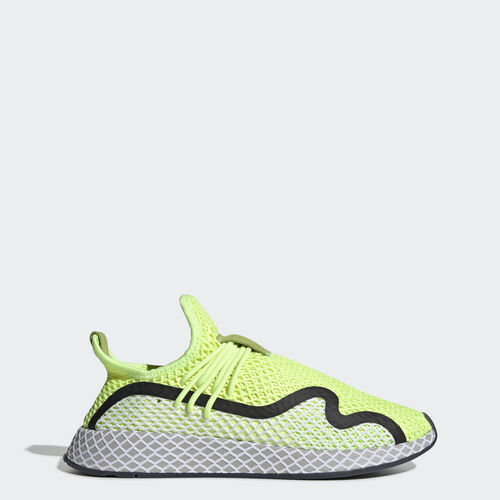 Obuv Deerupt S Runner, , zoom, (Hi-Res Yellow / Core Black / Ftwr White), 31 březen