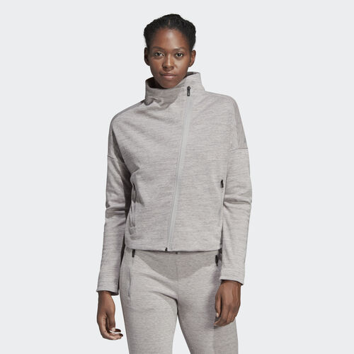 adidas - Heartracer Jacket Mgh Solid Grey / Black CZ2914