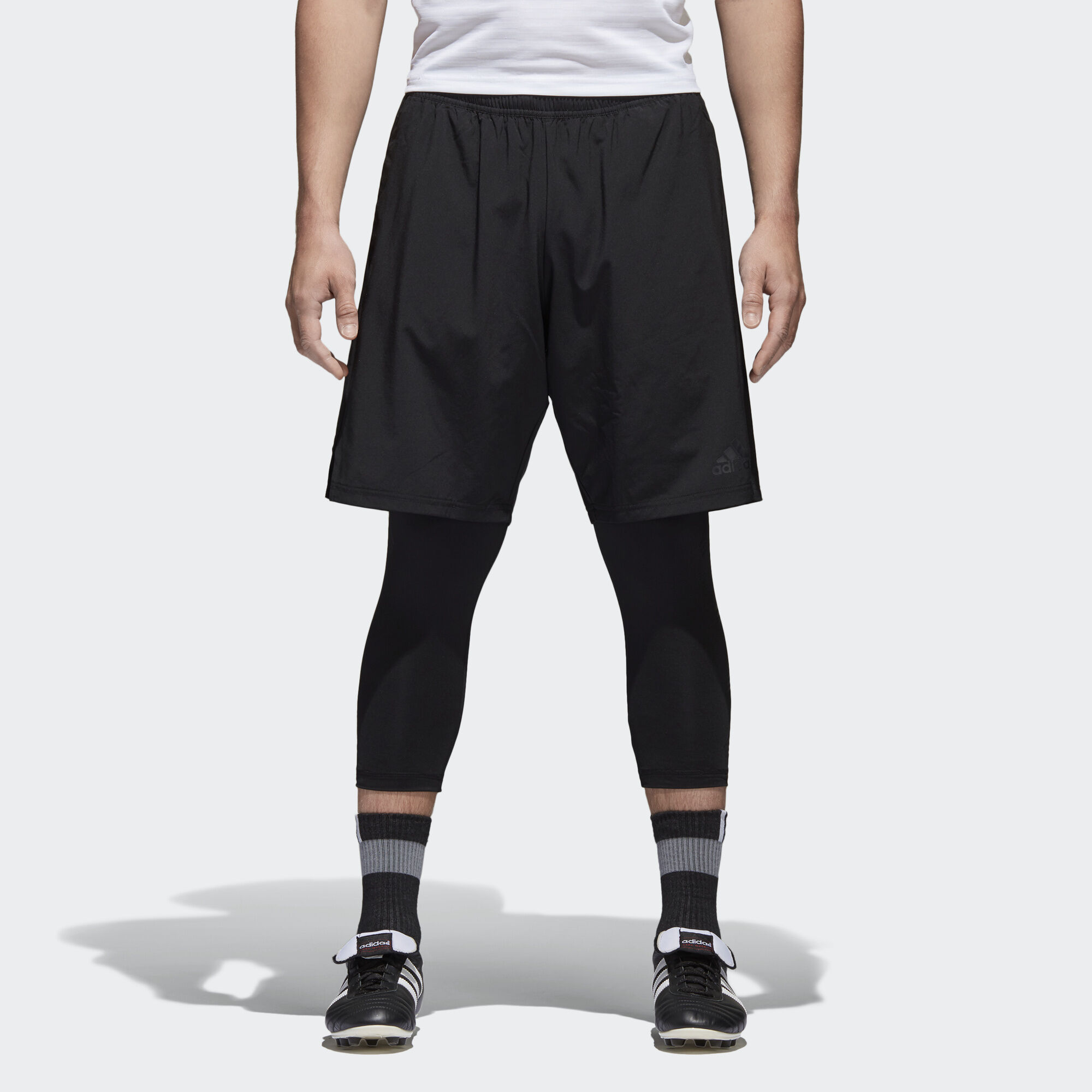 Adidas Y Black Regional Mallas Corto Pantalón Tango pXnwxWBqT7