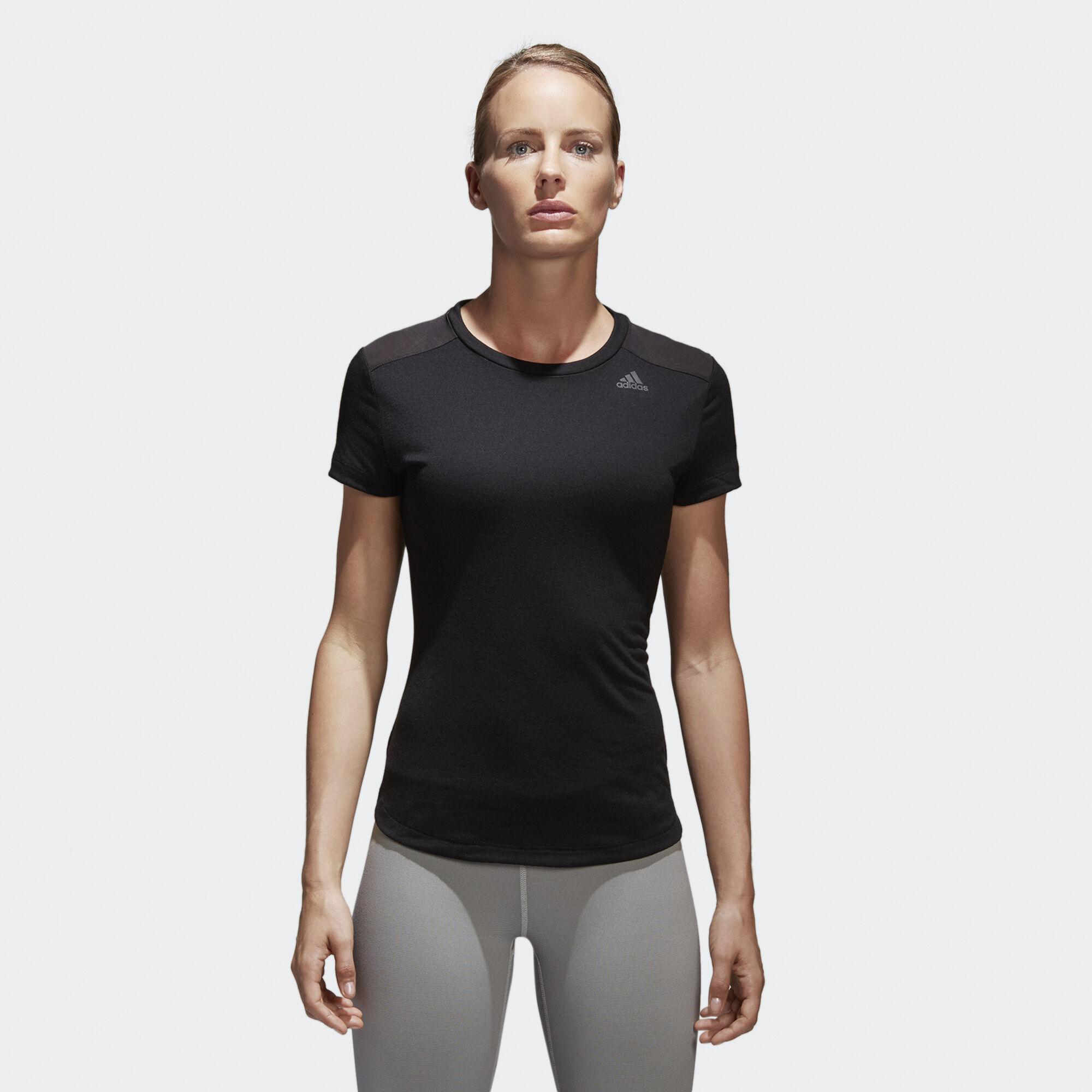 adidas - PRIME TEE MIX Black BQ5799. Women Training