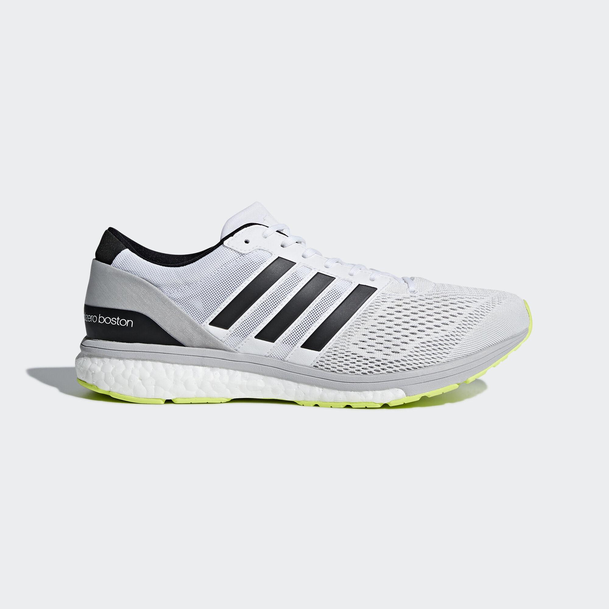 adidas adizero Boston 6 Shoes - White | adidas Asia/Middle ...