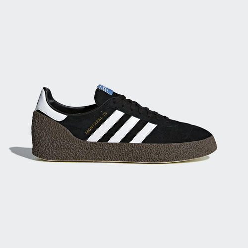 adidas - Montreal '76 Shoes Core Black/Ftwr White/Gold Metallic CQ2176