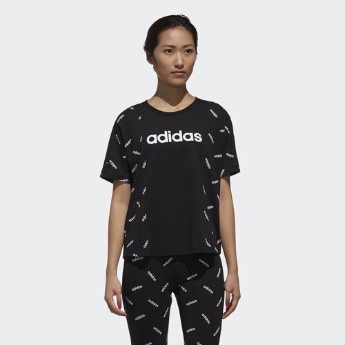adidas - Graphic Tee Black / White DW8017