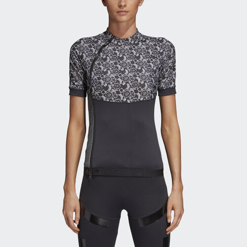 adidas - Run Printed Tee Black / White CZ4140