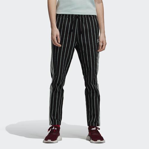 adidas - Track Pants Black / Vapour Green DU9886