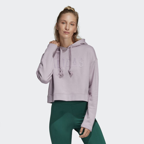 adidas - Cropped Hoodie Soft Vision DU9890