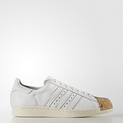 adidas - Superstar 80s Shoes Footwear White/Off White BA7605