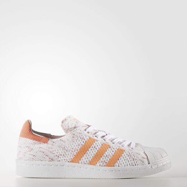 Sapatos Superstar 80s Primeknit Laranja BY9206
