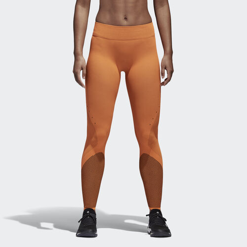 adidas - Warp Knit Tights Hi-Res Orange/Black CD3120