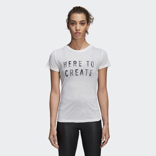 adidas - Logo Tee White DH4540
