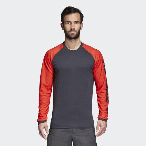 adidas - Terrex Trailcross Tee Grey/Hi-Res Red/Carbon CG2503