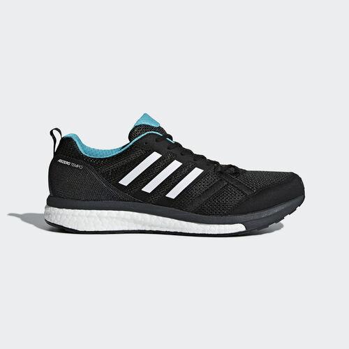 adidas - Adizero Tempo 9 Shoes Core Black / Hi-Res Aqua / Mystery Ink BB6649