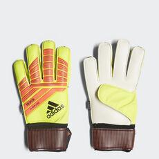 adidas - Luvas Predator Fingersave Replique Solar Yellow   Solar Red   Black  CW5595 6e6ed3a5457d7