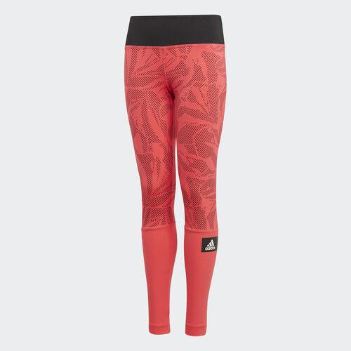 adidas - Training Summer Tights Shock Red / Black / White DV2785