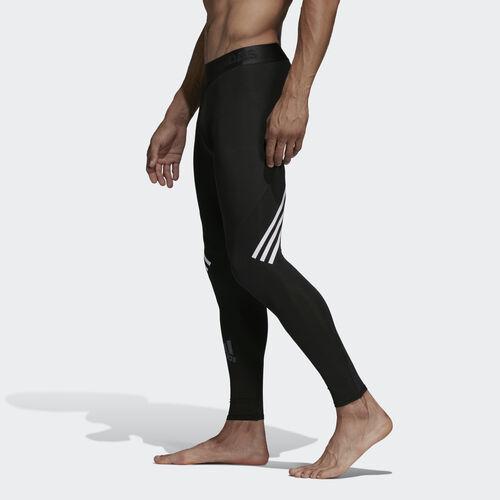 adidas - Alphaskin Sport+ Long 3-Stripes Tights Black DQ3561