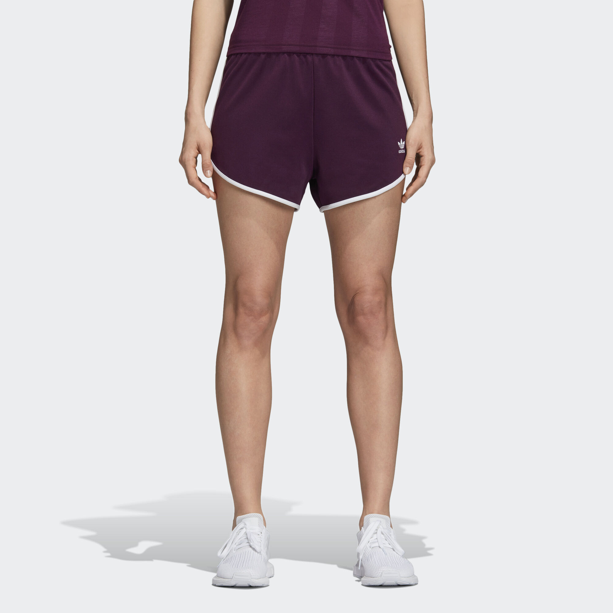 adidas - AA-42 Shorts Red Night CE4177. Women Originals