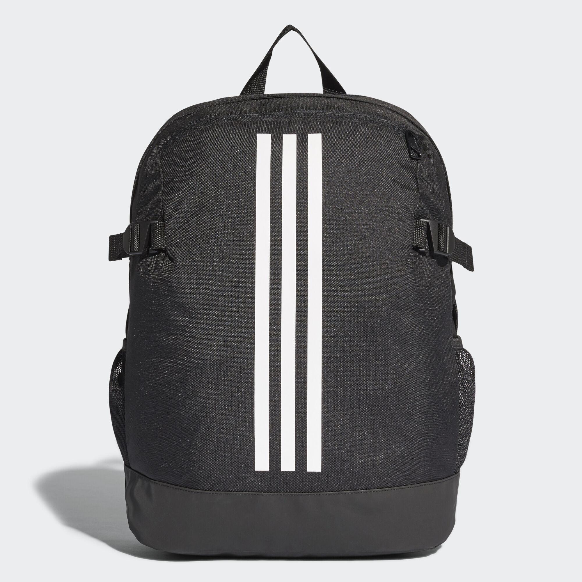 adidas - 3-Stripes Power Backpack Medium Black White White BR5864 c89d49fcac769
