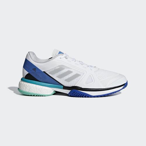 adidas - adidas by Stella McCartney Barricade Boost Shoes Ftwr White / Stone / Ray Blue AC8258
