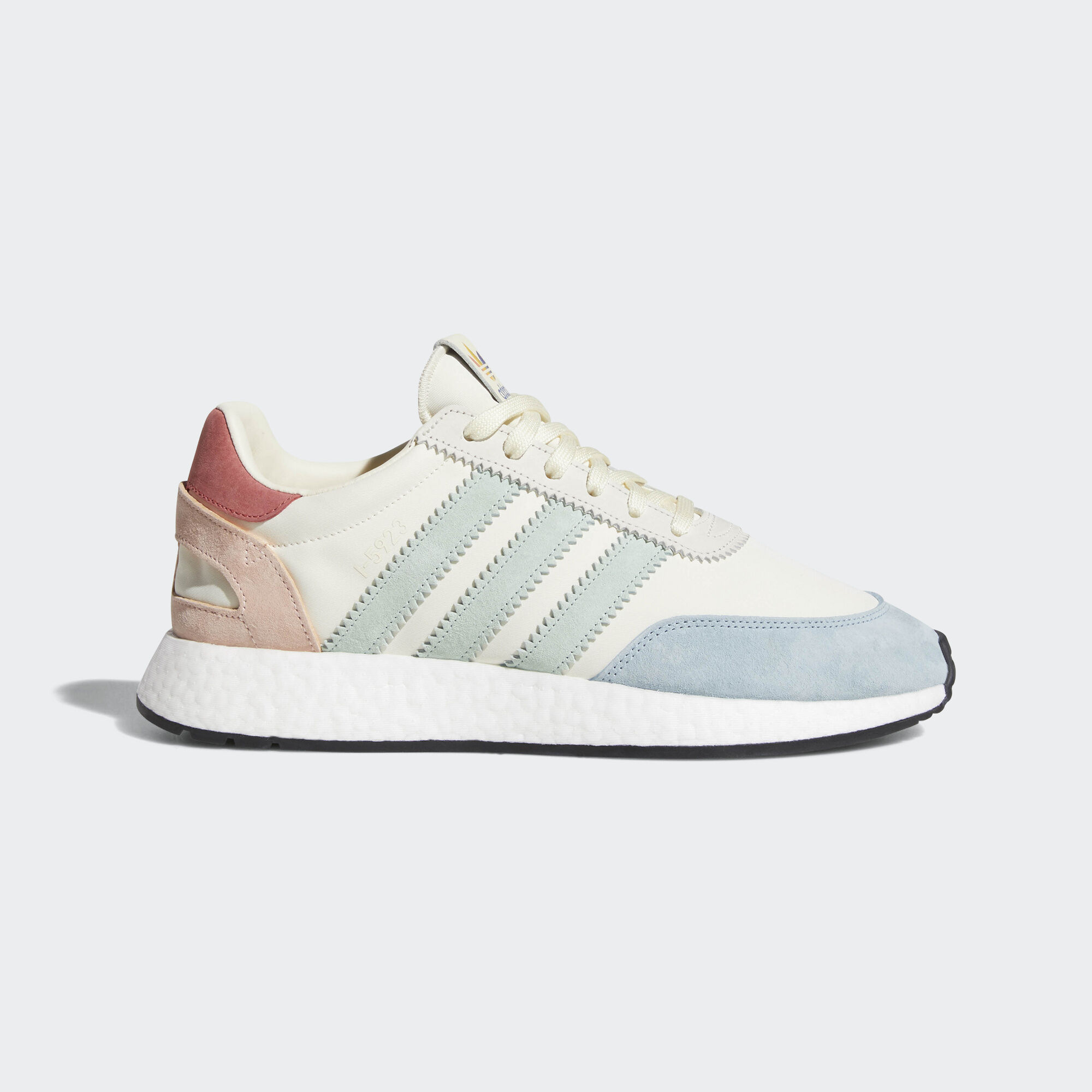 adidas Originals I-5923 PRIDE - Trainers - cream white/footwear white/core black