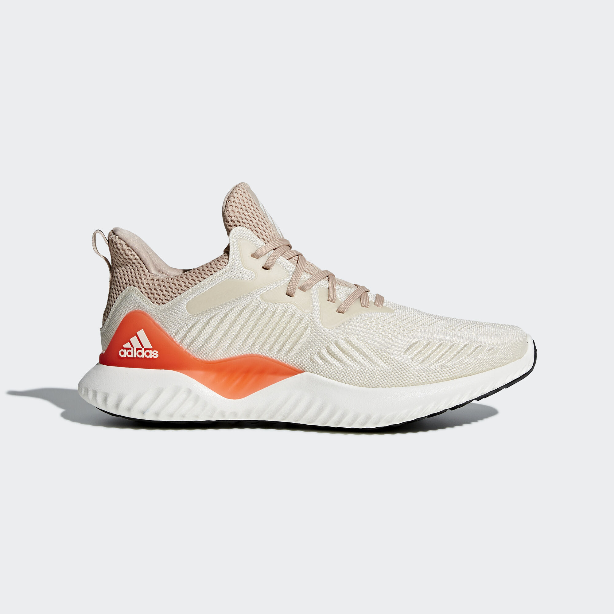 Adidas CG4763 Men Alphabounce Beyond Running shoes Great beige orange sneakers Lowest price
