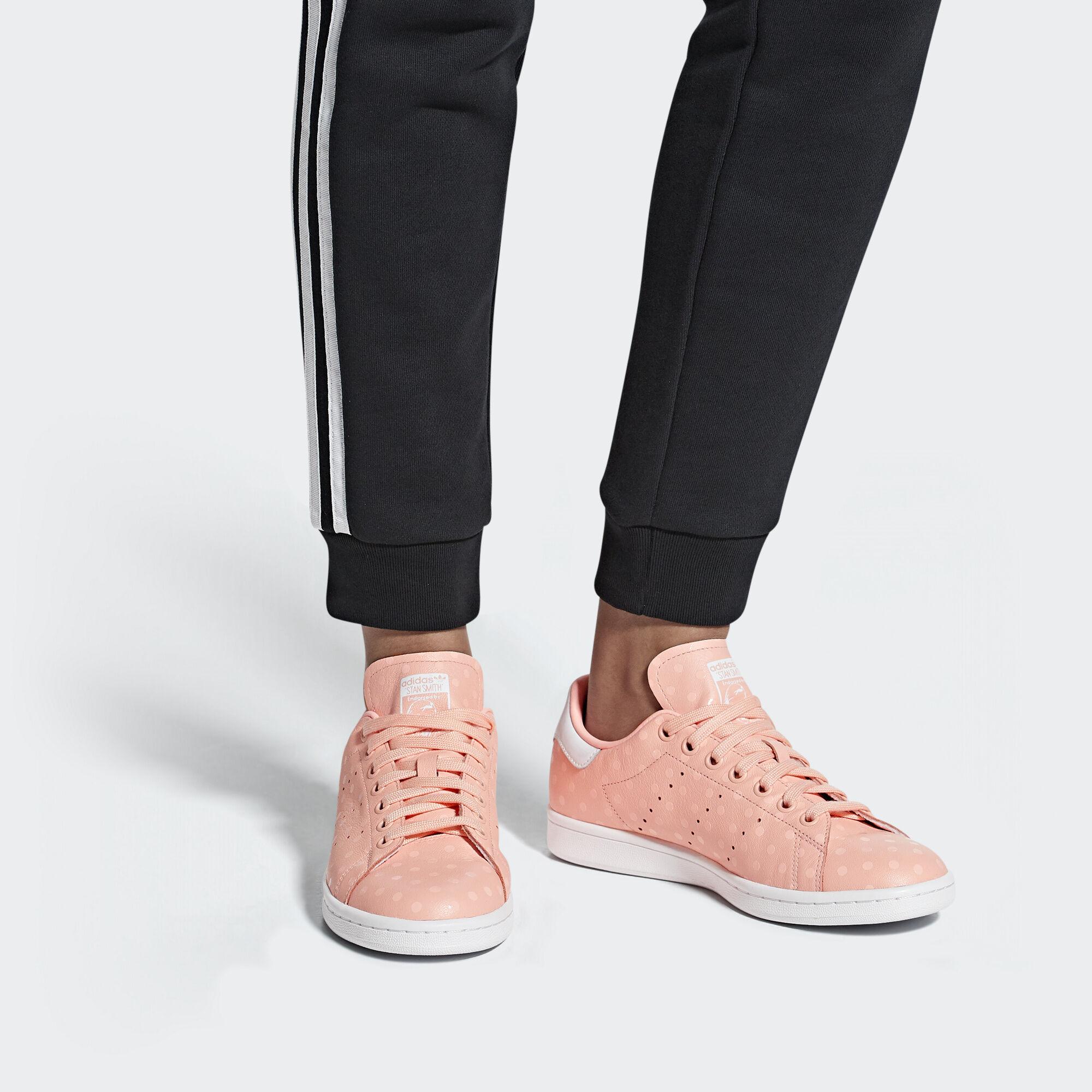 adidas Sapatos Stan Smith - Rosa  37e9863d17e09
