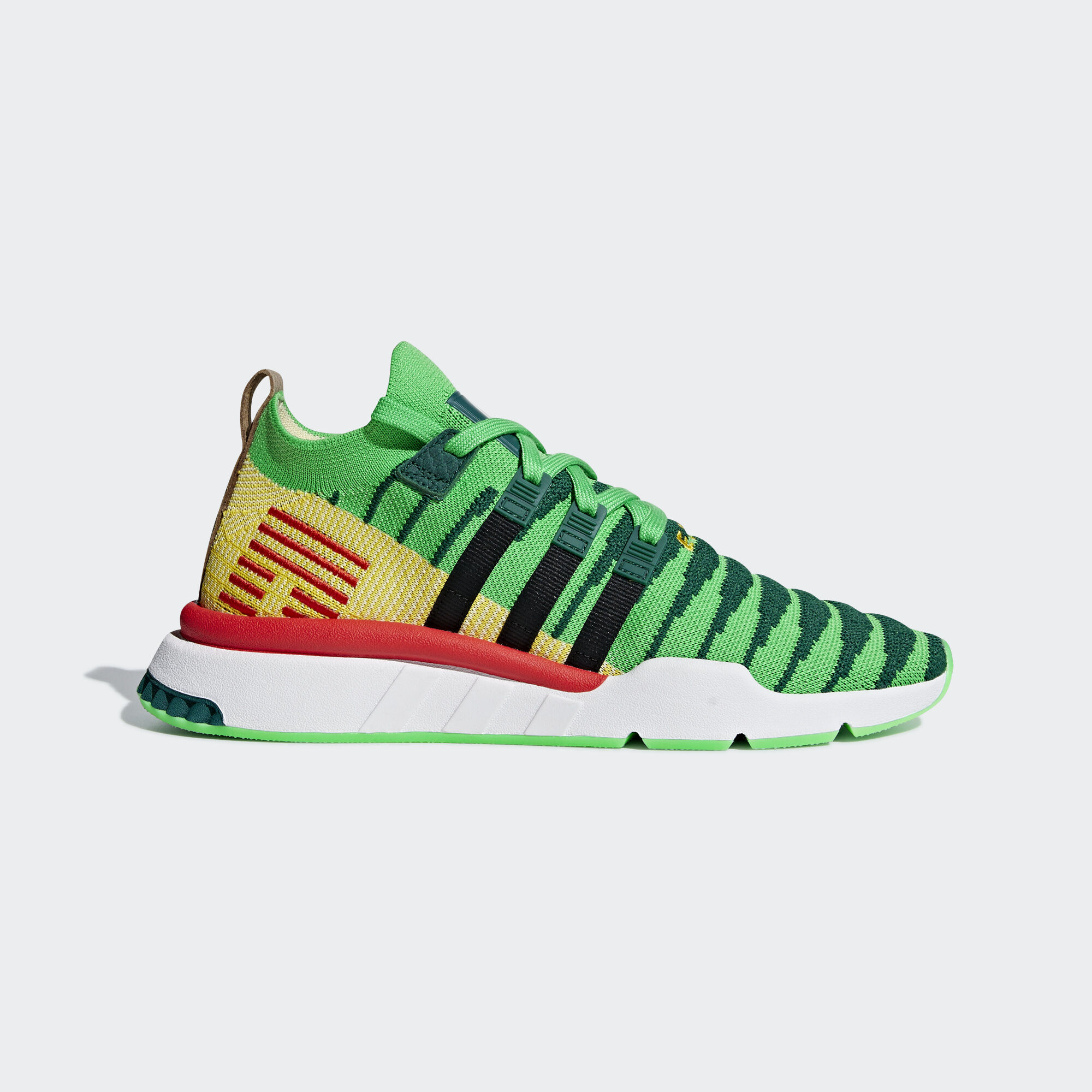 new concept d4f75 69538 adidas - Dragonball Z EQT Support Mid ADV Primeknit Shoes Collegiate Green   Core Black . Originals