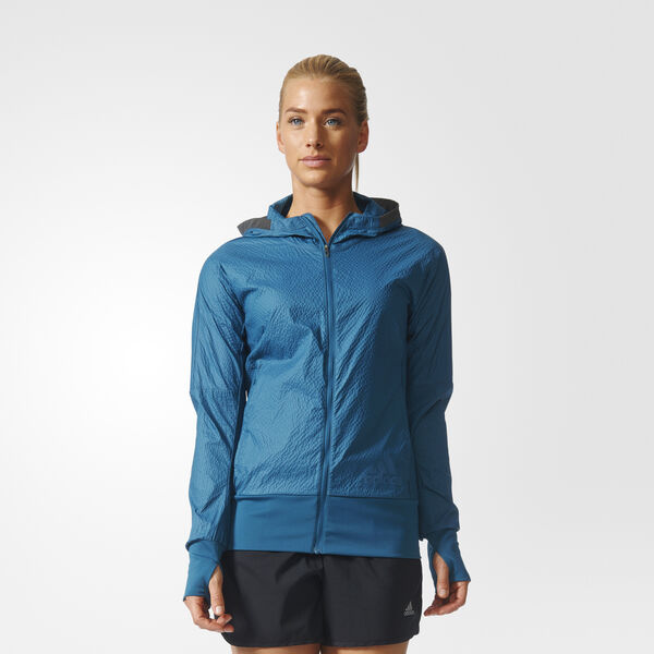 PURE AMPLIFY JACKET WOMEN Azul BQ9122