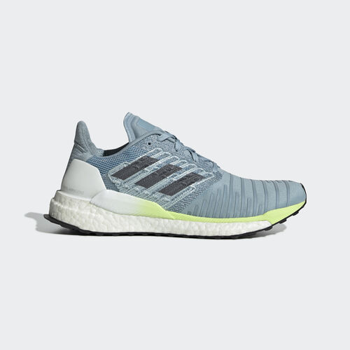 adidas - Solar Boost Shoes Ash Grey / Onix / Hi-Res Yellow B96285
