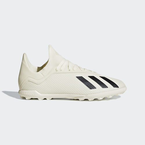 adidas - X Tango 18.3 Turf Boots Off White / Core Black / Gold Met. DB2424