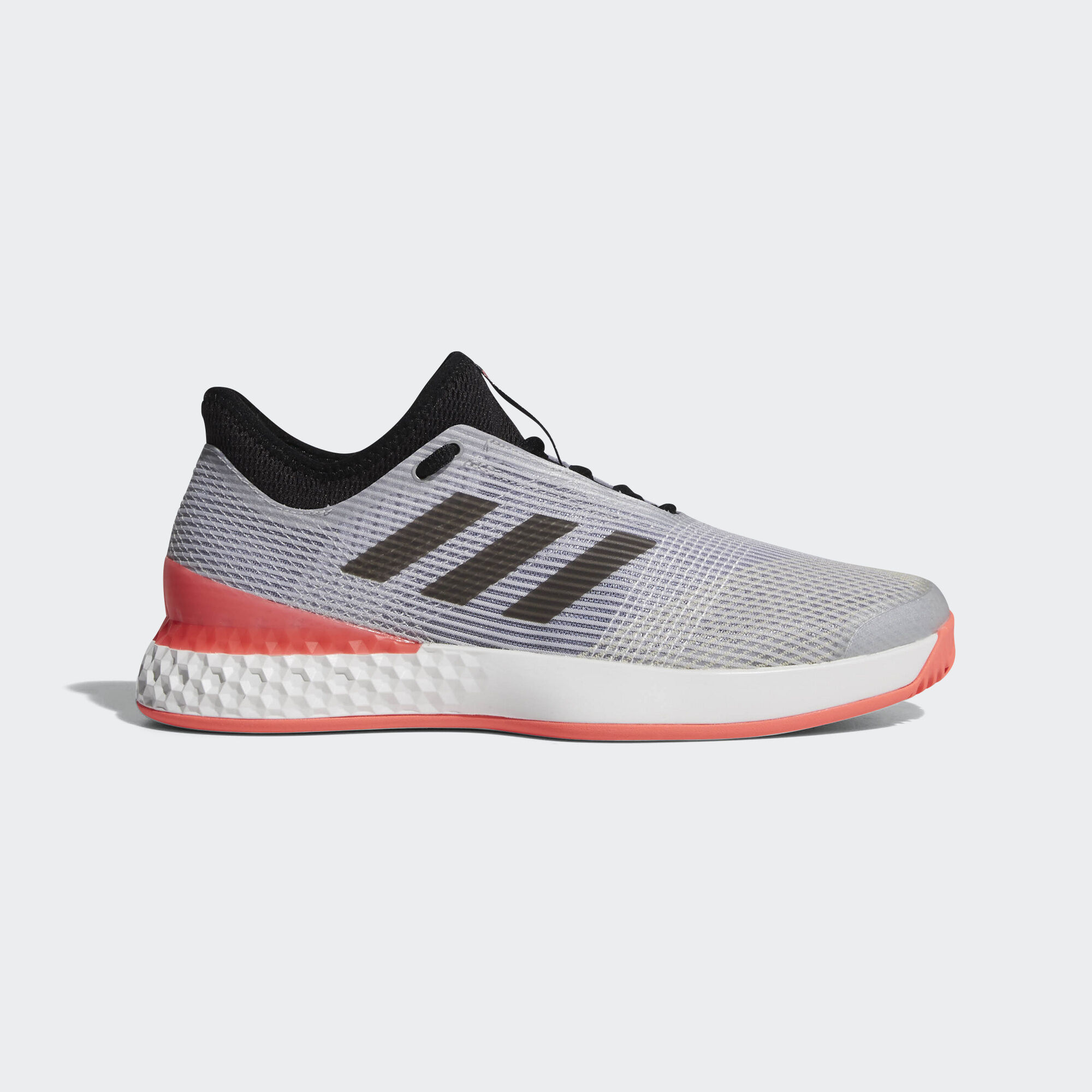 online store 1fcbc ae9fc adidas - Adizero Ubersonic 3.0 Shoes Grey  Core Black  Flash Red CP8853.  Men Tennis