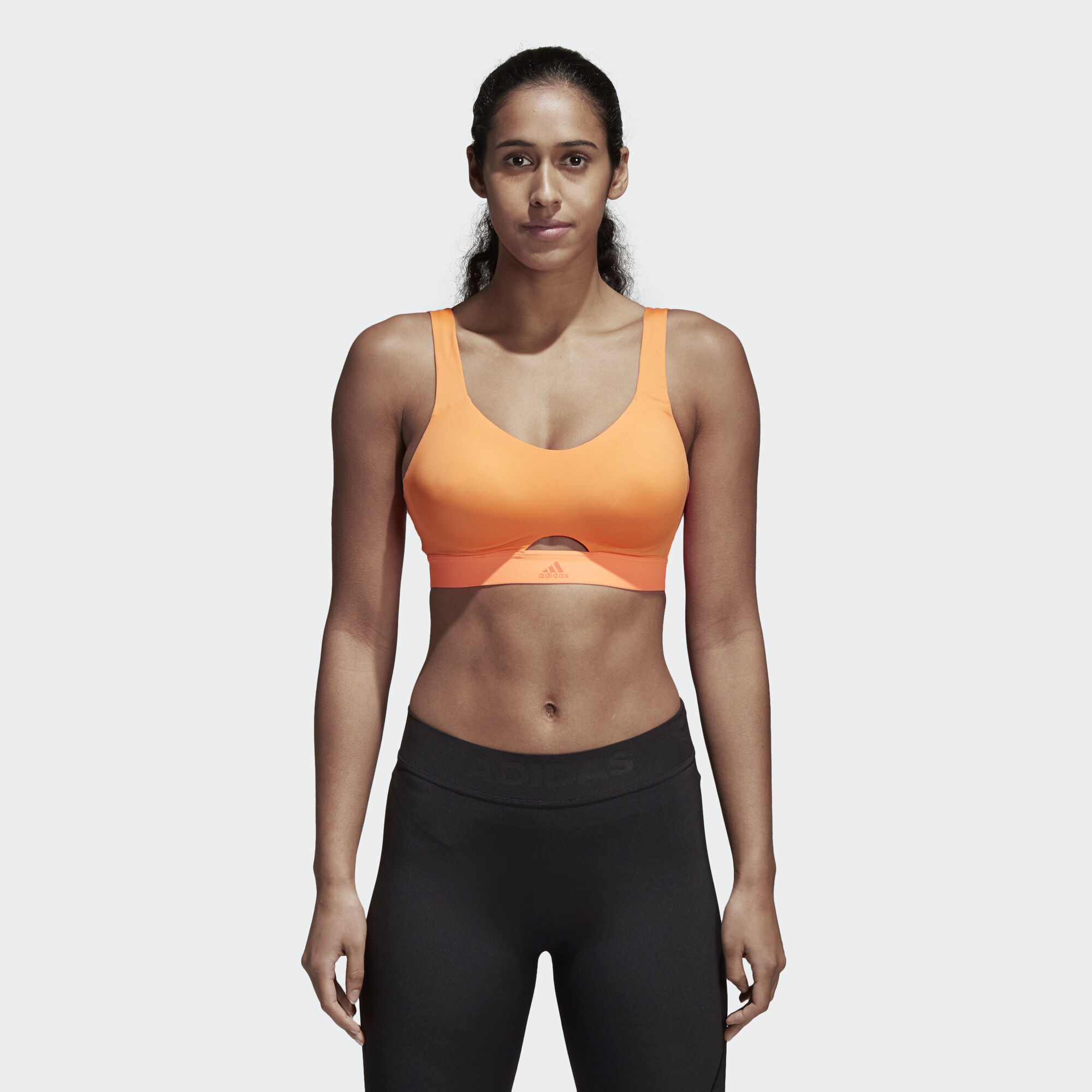 afcdb99979da5 adidas - Stronger For It Soft Bra Hi-Res Orange CE2593