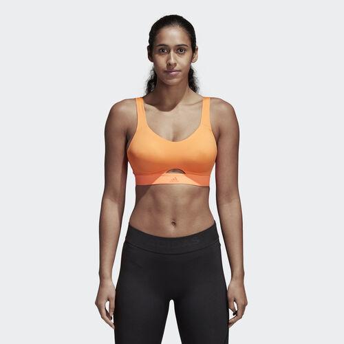 adidas - Stronger For It Soft Bra Hi-Res Orange CE2593