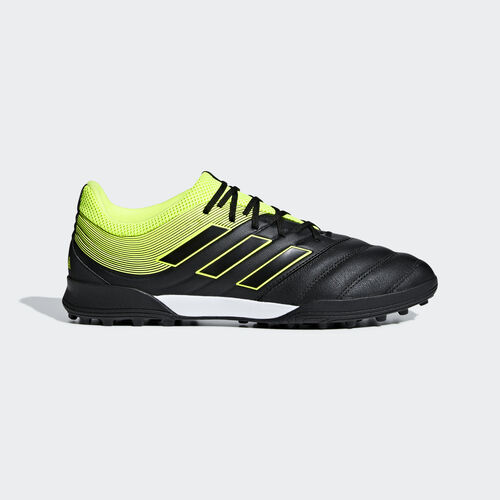 adidas - Copa 19.3 Turf Boots Core Black / Solar Yellow / Core Black BB8094
