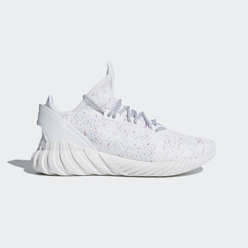 adidas - Tubular Doom Sock Primeknit Shoes Ftwr White/Grey Three/Collegiate Burgundy CQ0941