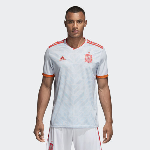 adidas - Spain Away Jersey White/Halo Blue/Bright Red BR2697