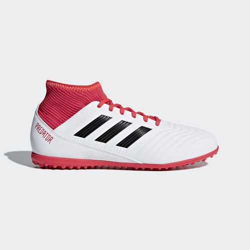 adidas - Predator Tango 18.3 Turf Boots Ftwr White/Core Black/Real Coral CP9040