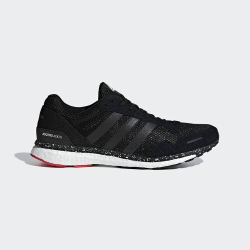 adidas - Adizero Adios 3 Shoes Hi-Res Red / Core Black / Bright Blue CM8356