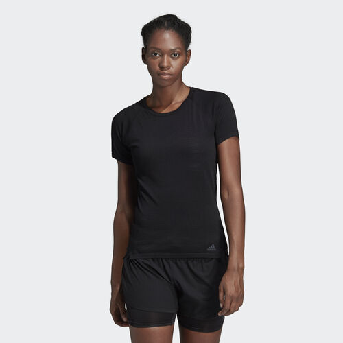 adidas - Primeknit Wool Cru Tee Black CX2934