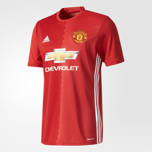 adidas - Manchester United FC Home Replica Jersey Real Red/Power Red/White AI6720