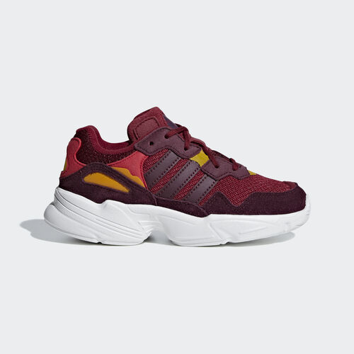adidas - Yung-96 Shoes Collegiate Burgundy / Maroon / Bold Gold F34285