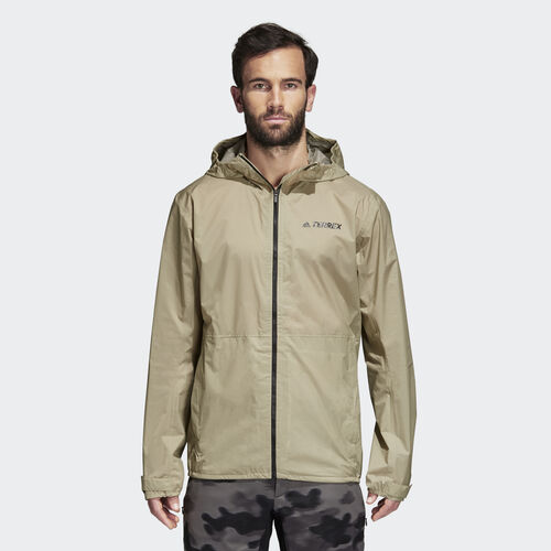 adidas - Multi 2.5 Layer jacket Beige/Raw Gold CG2496