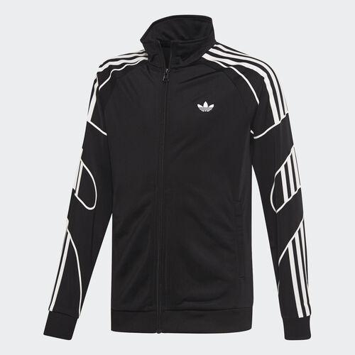 adidas - Flamestrike Track Jacket Black / White DW3860