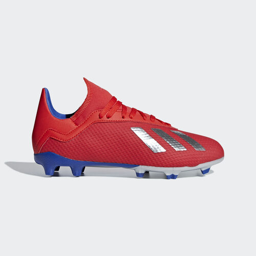 adidas - X 18.3 Firm Ground Boots Active Red / Silver Met. / Bold Blue BB9371