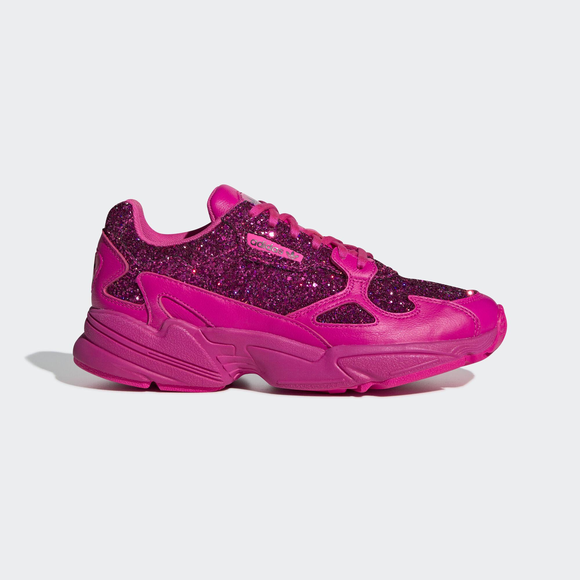 big sale 7b217 9e260 adidas - Falcon Shoes Shock Pink  Shock Pink  Collegiate Purple BD8077.  Women Originals