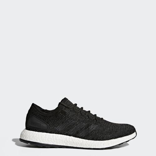 adidas - Pure Boost Shoes Core Black/Dark Grey Heather BA8899