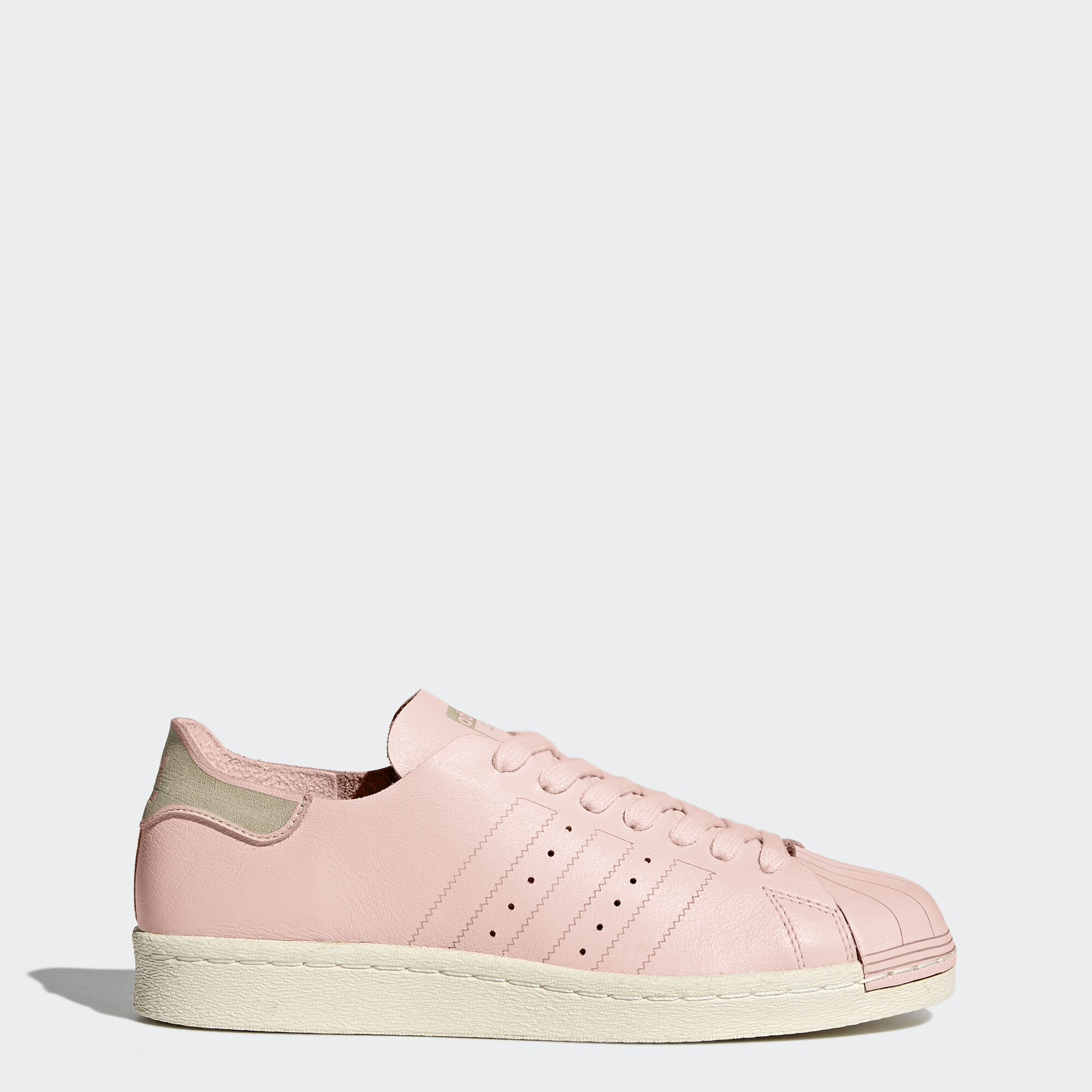 adidas - Superstar 80s Decon Shoes Icey Pink/Icey Pink/Off White BZ0500