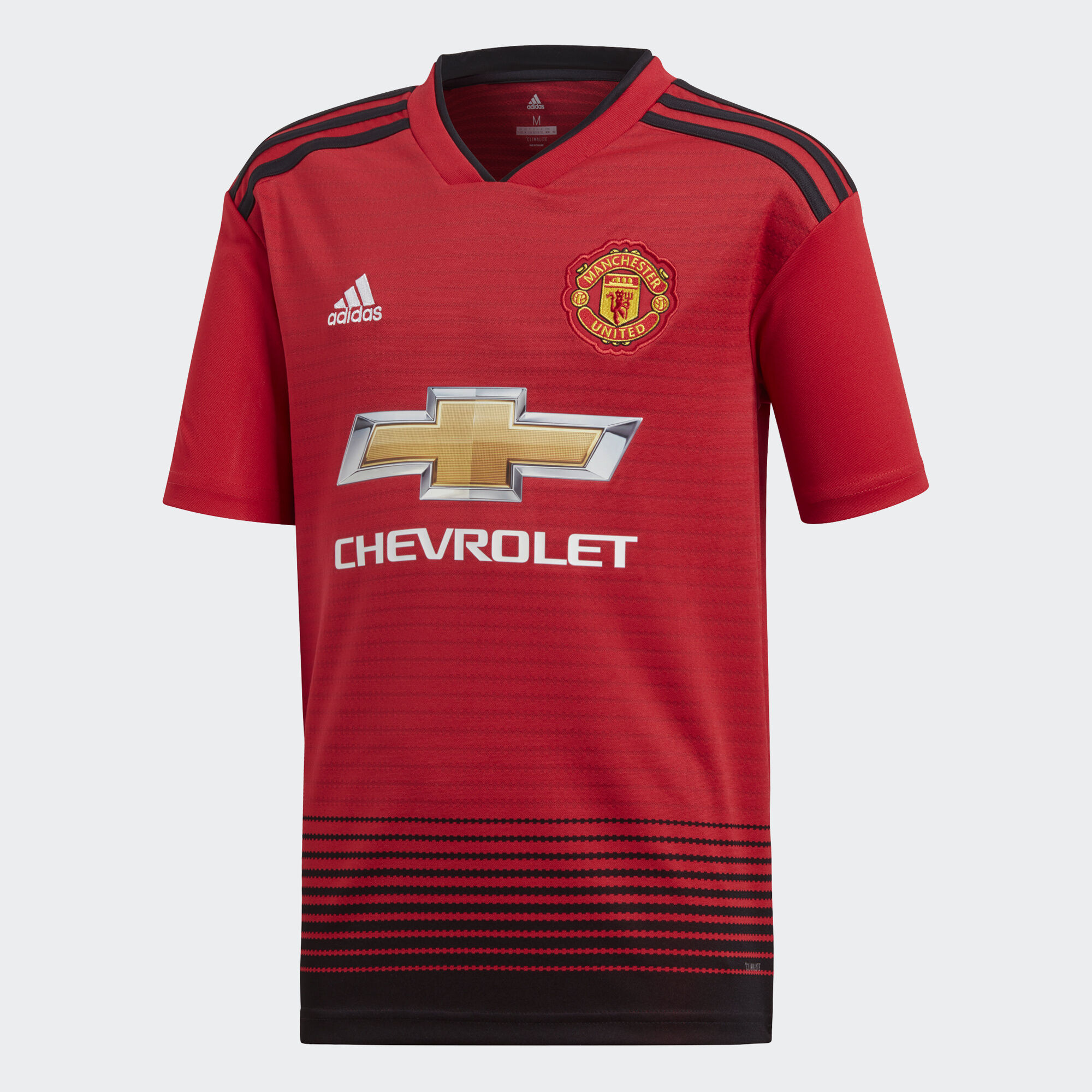 adidas - Manchester United Home Jersey Real Red   Black CG0048 4b4146b2f9384