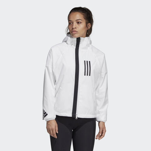 adidas - adidas W.N.D. Fleece-Lined Jacket White DZ0033