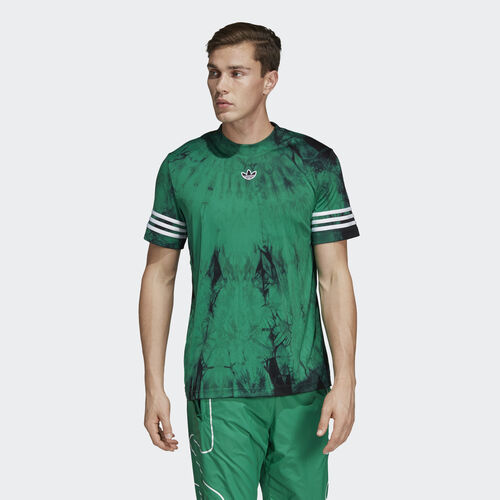 adidas - Space-Dyed Jersey Bold Green DU8209